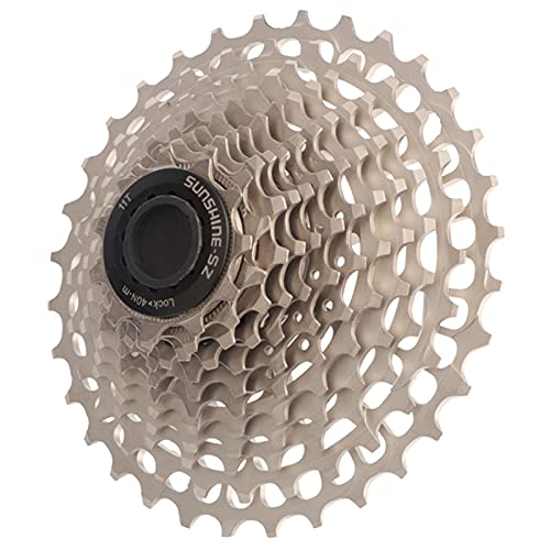 Cassettes y piñones 11/12 Velocidades Freewheel-28-32-34-36t para MTB Bicicleta de Carretera Bicicleta Híbrida Casetes Plateados (Size : 12-34T)