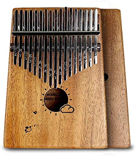 Kalimba Piano De Pulgar Thumb Piano Marimba 17-Clave Patrón...