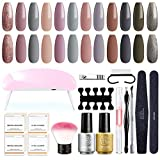 Best Gel Kits - SEXY MIX Gel Nail Polish Starter Kit Review