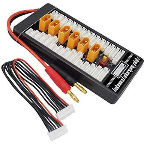 ACEHE Hotrc Xt60 2S-6S Enchufe Lipo batería Placa de Carga paralela para RC Imax B6 Cargador Coche Drone Parte de Carga de Equilibrio