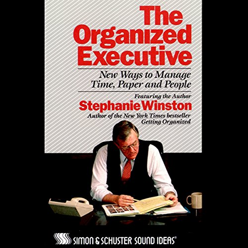 The Organized Executive audiobook cover art