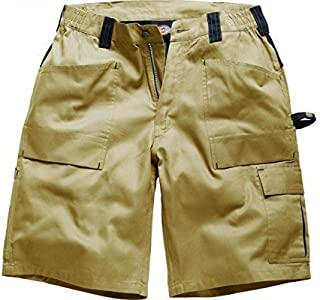 Dickies Grafter Duo Tone Cargo Shorts Premium Quality Lightweight Triple Stitch Mobile Phone Pocket Durable Fabric Ykk Zip...