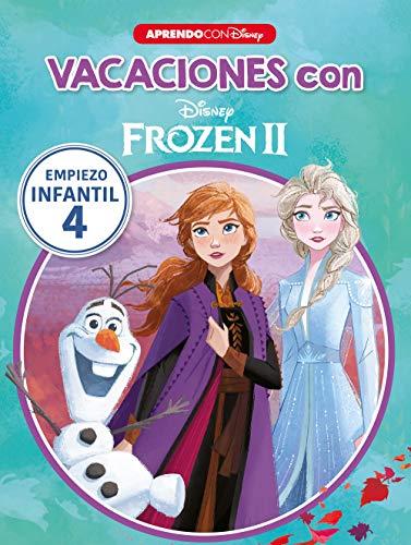 Vacaciones con Frozen II (Libro educativo Disney con actividades): Empiezo... infantil 4