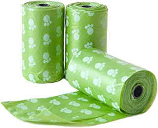 PetVogue Scented 3 Rolls - 45 Dog Poop Bags Designed for Over Scoopers Claw for Pet Dog Waste