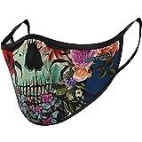 SMMASH Sommer Maske, Mundschutz Maske Wiederverwendbar, Licht, Leichtes Atmen, Gesichtsmaske Waschbar, Hergestellt in der Europäischen Union, Maske für Damen und Herren(L/XL)