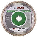 Bosch Professional 2608602204 Standard for Ceramic Diamond Cutting disc, Silver/Grey, 180 mm