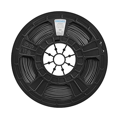Dremel Filamento in ECO-ABS, Accessorio per Stampante 3D45, Diametro 1.75 mm, Peso 750 g, Nero