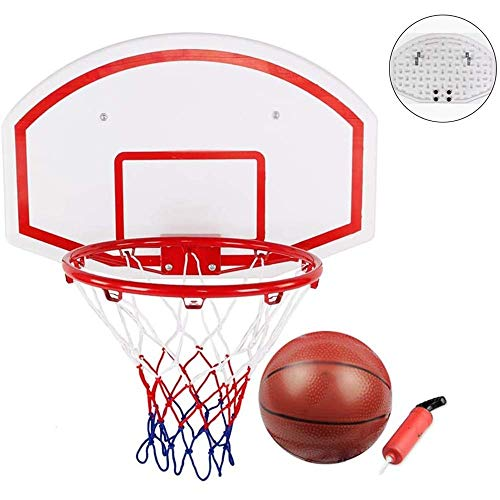 XIUYU Basketballkorb 60CM hängend Basketball Wand befestigtes Tor Hoop Rim IndoorOutdoor Basketball Wand befestigten Hängekorb Net