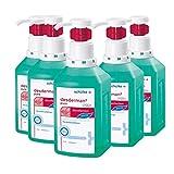 5x 500 ml Schülke Desderman® Pure Hyclick Händedesinfektionsmittel Desinfektionsmittel