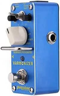 Armonizador Armonizador Pitch Shifter Pedal de efecto de guitarra eléctrica Mini efecto individual con True Bypass Blue Kaemma(Color:blue)