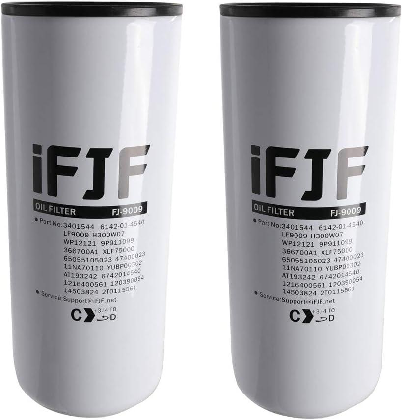 海外限定 iFJF いよいよ人気ブランド LF9009 Oil Lube Filter Replacement for 8.3L ISC QSL 9.0 ISL