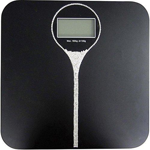 TFA Digitale Personenwaage Charleston Wägebereich (max.)=180 kg Schwarz