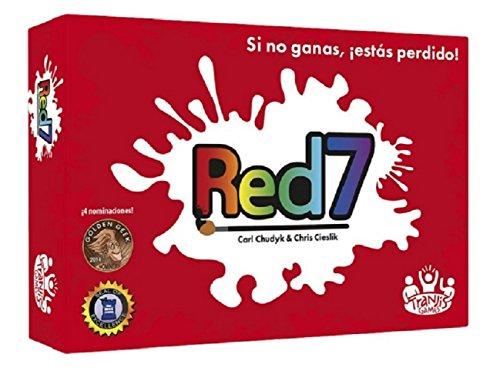 Tranjis Games - Red7 -Juego de cartas (TRG-04red) , color/modelo surtido
