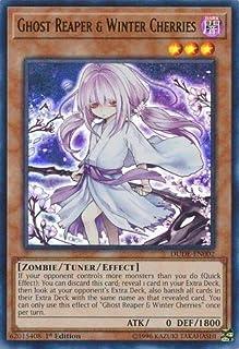 Yu-Gi-Oh! - Ghost Reaper & Winter Cherries (Alternate Art) - DUDE-EN002 - Ultra Rare - 1st Edition - Duel Devastator