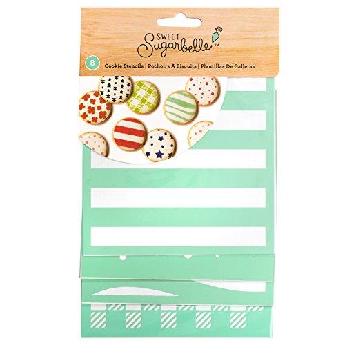 Sweet Sugarbelle 8 piezas de 5 x 5 pulgadas cuadrados para galletas