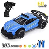 Think Wing Drift RC Cars, 1/18 Scale Remote Control Car, 2.4Ghz High Speed Racing Sport Car, Electric Toy Car Best Xmas Gifts Birthday Gift for All Adults & Kids (5618-3)