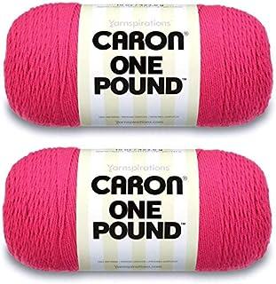 Caron One Pound Yarn - 2 Pack (Dark Pink)