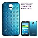 swark Akku Deckel Backcover Kompatibel mit Samsung Galaxy S5 G900F Akkudeckel (Blue)
