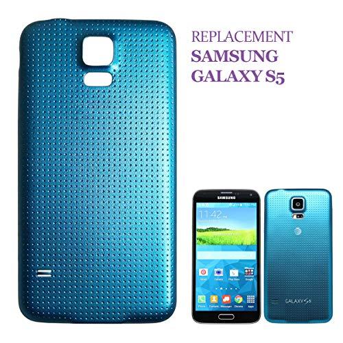 swark - Copribatteria per Samsung Galaxy S5 G900F, Colore: Blu