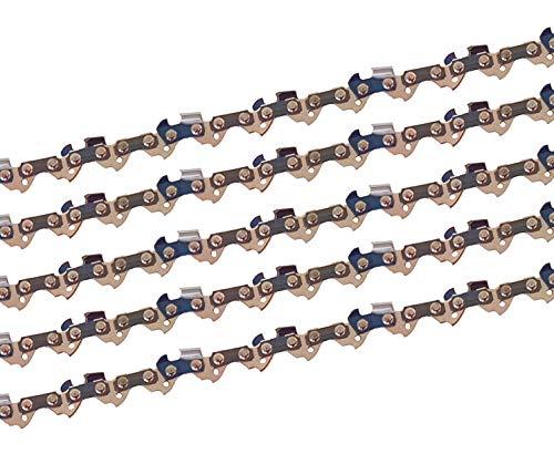 5 x gardexx Sägekette für Scheppach CSE 2500