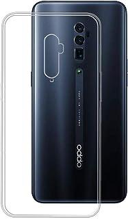 NUPO Vivo iQOO Pro 5G ケース 耐衝撃 クリア 透明 TPU シリコン Vivo iQOO Pro 5G 専用カバー (クリア)
