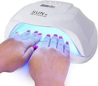 Nail Dryer, 54W Nail Gel Lamp UV Lamps for Nails Gel nail light Gel UV Lamp UV Nail Lamp Led Gel Nail Lamp Gel Nail Dryer Led Nail Dryer Nail Curing Lamp for Fingernail & Toenail Gels UV Nail
