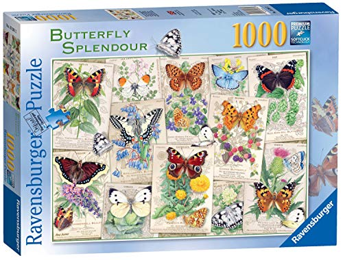 """Ravensburger Puzzle """"Butterfly Splendours"""", Schmetterlinge, 1000 Teile"""