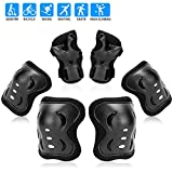 RUNDONG Kids/Youth Knee Pad Elbow Wrist Pads Guards Protective Gear Set for Roller Skates Cycling Bike...