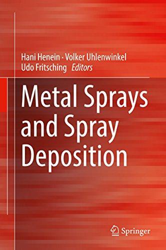 Metal Sprays and Spray Deposition (English Edition)