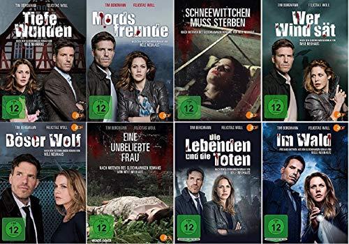 Nele Neuhaus 8 x Filme Paket u.a. Mordsfreunde, Tiefe Wunden, Eine unbeliebte Frau [DVD Set]