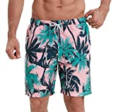 NITAGUT Mens Swim Trunks Quick Dry Printed Funny Swim Shorts with...