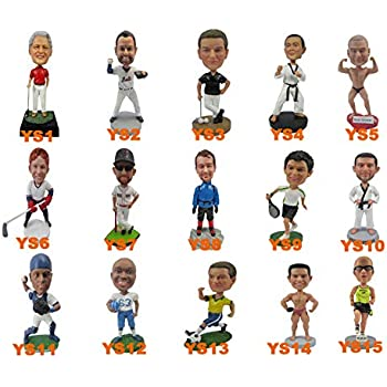 Unique Novelty Gift Idea Hand Painted Entrepreneur Bobblehead Figure Decor /& Desk Ornament Motivational Dashboard Premium BobbleHead Figurines for Office /& Car Entreprenurim Bobbleheads