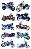 AVERY Zweckform 53750 Kinder Sticker Motorräder (3D Effekt) 10 Aufkleber