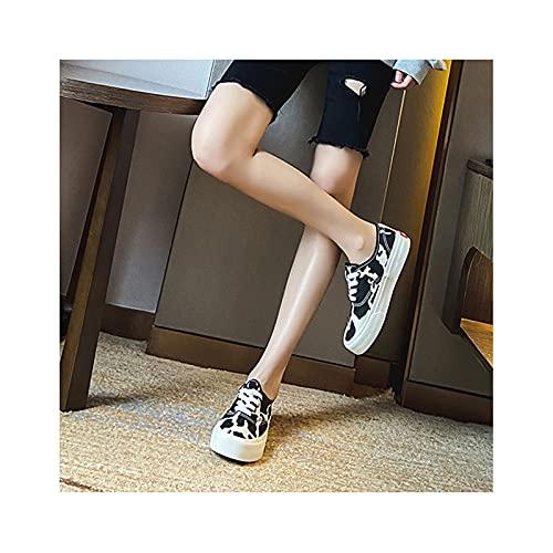 HaoLin Calzado de Conducción Zapatillas Cómodas para Aumentar La Altura: Las Mejores para El Verano, para Caminar, Vacaciones,Black-35 EU