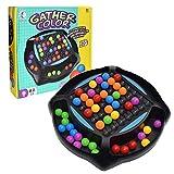 Regenbogenball Matching Spiel, Rainbow Ball Elimination Game Toy, Kinder Regenbogen Perlen Spiel Strategiespiel Logikspiel Denkspiel Pädagogisches Puzzle Spielzeug Für kinder