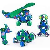 Katyma Magnetische Bausteine Kinder Flessibile 3D Pädagogische Spielzeug Konstruktion Bauen Blöcke Set Gebäude Spielzeug Kinder Magnetspiele für Kinder Spaß Geschenk