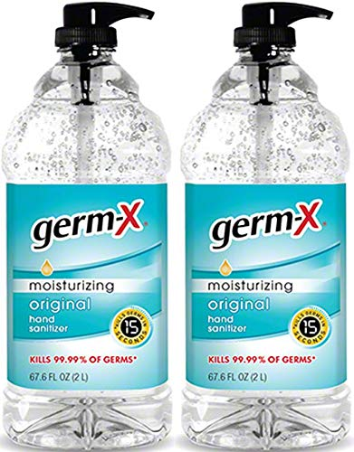 Germ-X Hand Sanitizer Moisturizing with vitamin E - 67.6 oz...