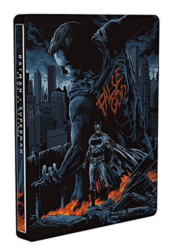 Batman v Superman: El Amanecer de la Justicia - Theatrical & Ultimate Ed. - Mondo Steelbook. Edición exclusiva de Amazon [Italia] [Blu-ray]