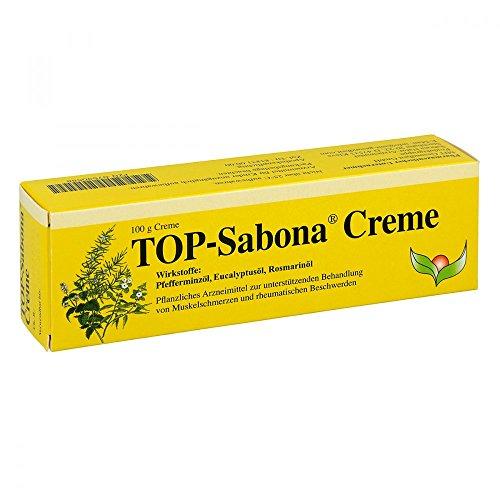TOP Sabona Creme bei Muskelschmerzen und rheumatischen Beschwerden, 100 g Creme