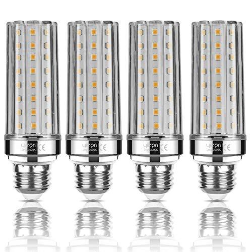 Yiizon LED Glühbirne, E27, 20W, entspricht 150 W Glühlampe, 3000 K Warmweiß, 2000LM, E27 Edison Schraube Glühbirnen, nicht dimmbar Kandelaber LED Glühlampen 4 Stück