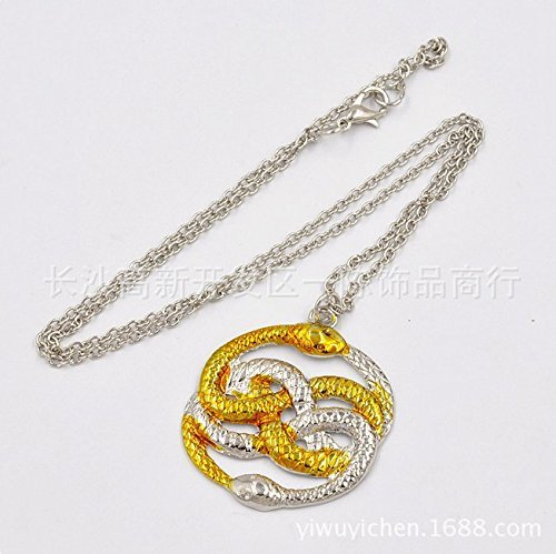The Neverending Story Auryn - Collar de serpiente Atreyu