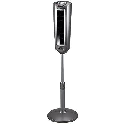 Lasko 2535 52″ Space-Saving Pedestal Tower Fan with Remote Control