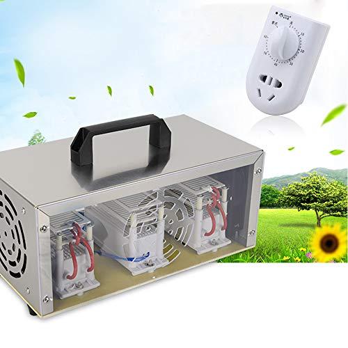 WUPYI2018 220 V 30 g/h Generador de Ozono Ceramica Depurador de Aire Unidad Ozoni Saterut Ozono Desinfección Máquina Purificador + Timer
