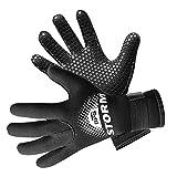BPS 3mm Neoprene Scuba Gloves with Anti Slip Palm - Full Finger Gloves...