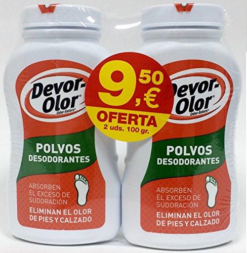 DESO DEVOR OLOR POLVO 100 G pack 2 unidades del