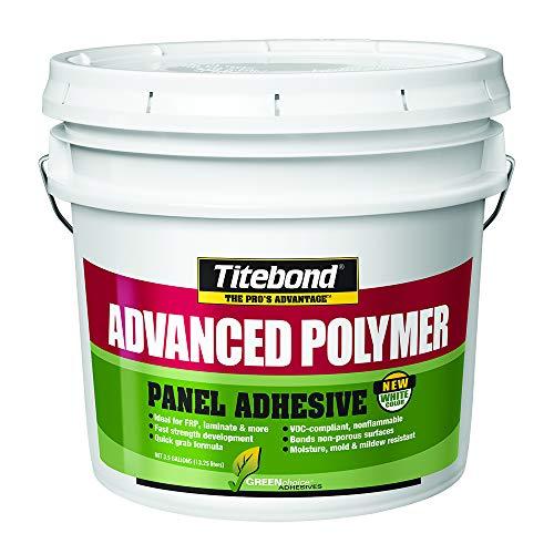 Titebond 4319 GREENchoice Advanced Polymer Panel Adhesive Pail, 3.5 gal