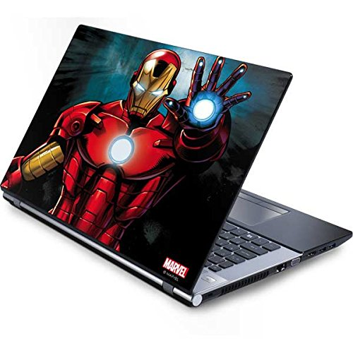 Skinit Decal Laptop Skin for Generic 15in Laptop - Officially Licensed Marvel/Disney Ironman Design