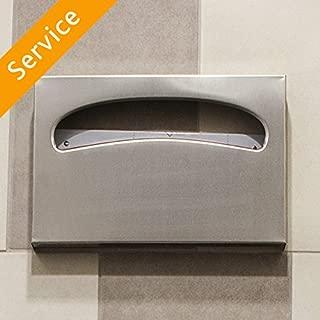 Toilet Seat Paper Cover Dispenser Installation