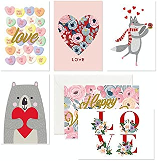 36 PACK - LOVE CARDS - LOVE AND VALENTINES DAY CARDS