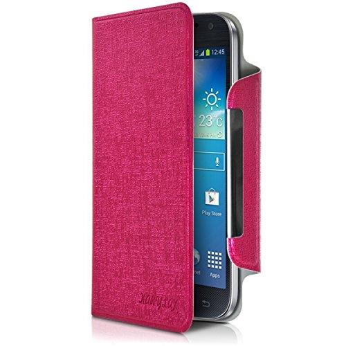 Seluxion Universal Folio M Fuchsia Pink for Samsung Galaxy Tab A3
